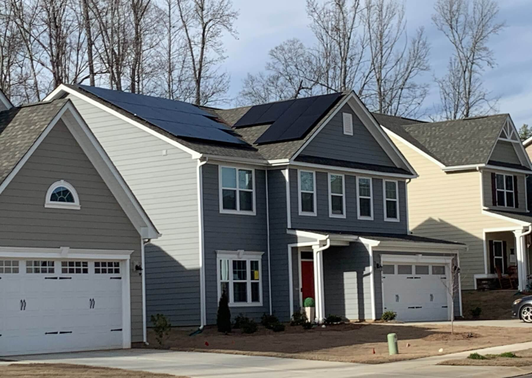 Burlington Solar House