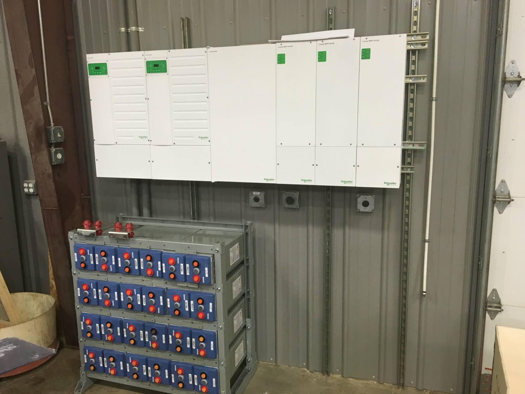 Carolina solar contractor battery