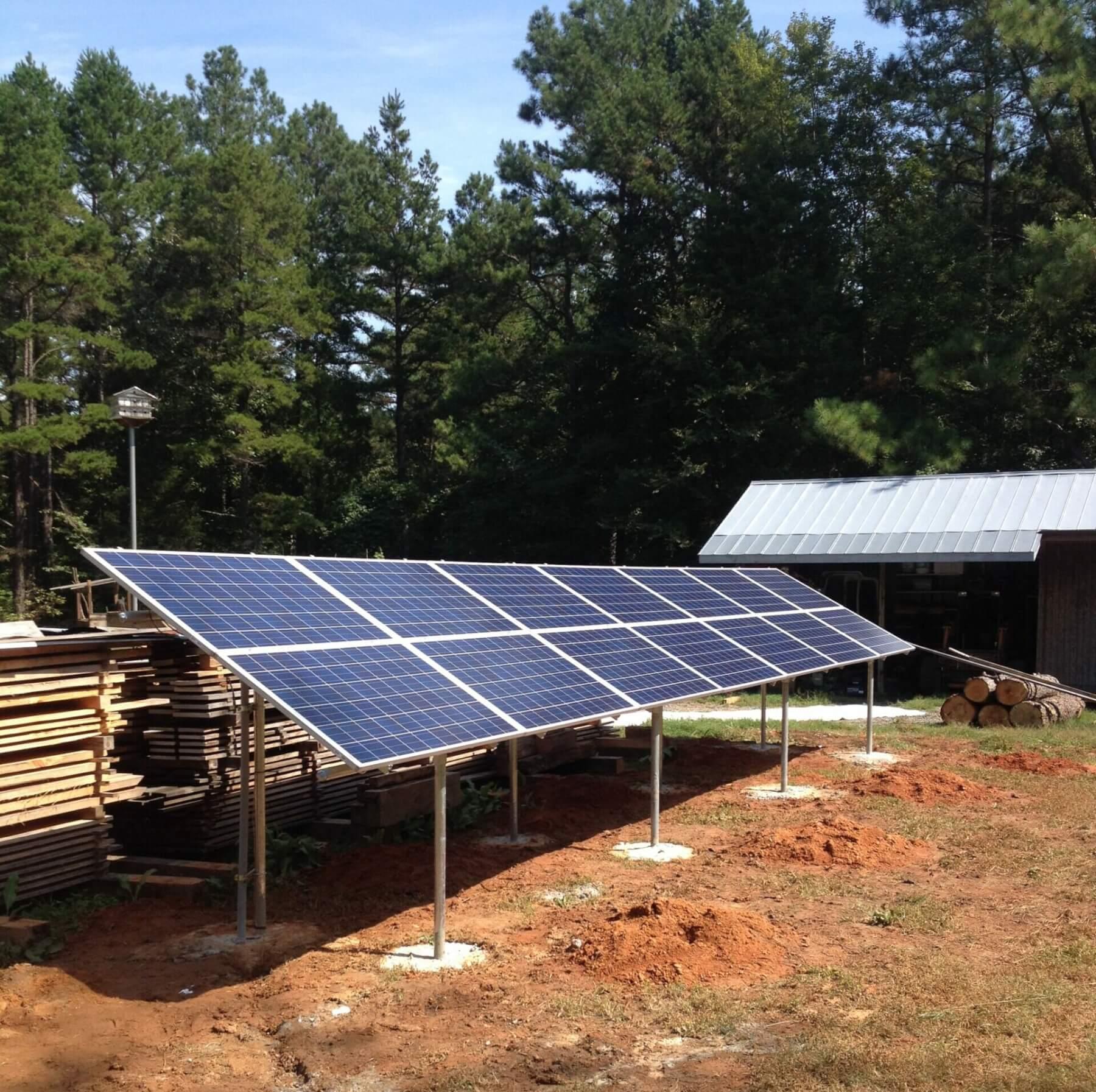 Charlotte Solar Gound Mounted - Copy