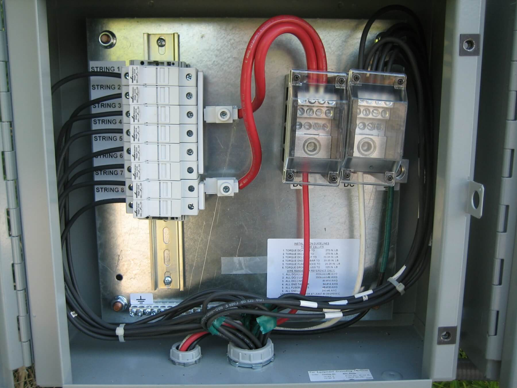 Equipment used for solar installation