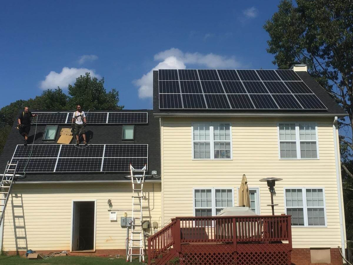 Guilford County Solar Installation PV