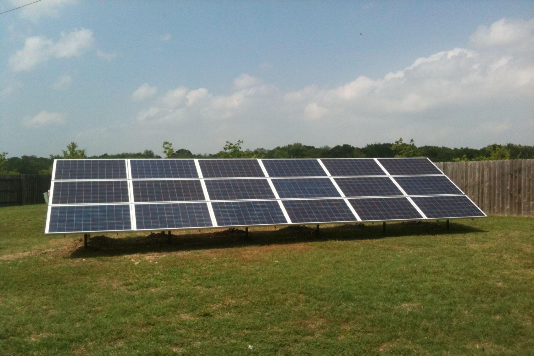 Solar On The Ground